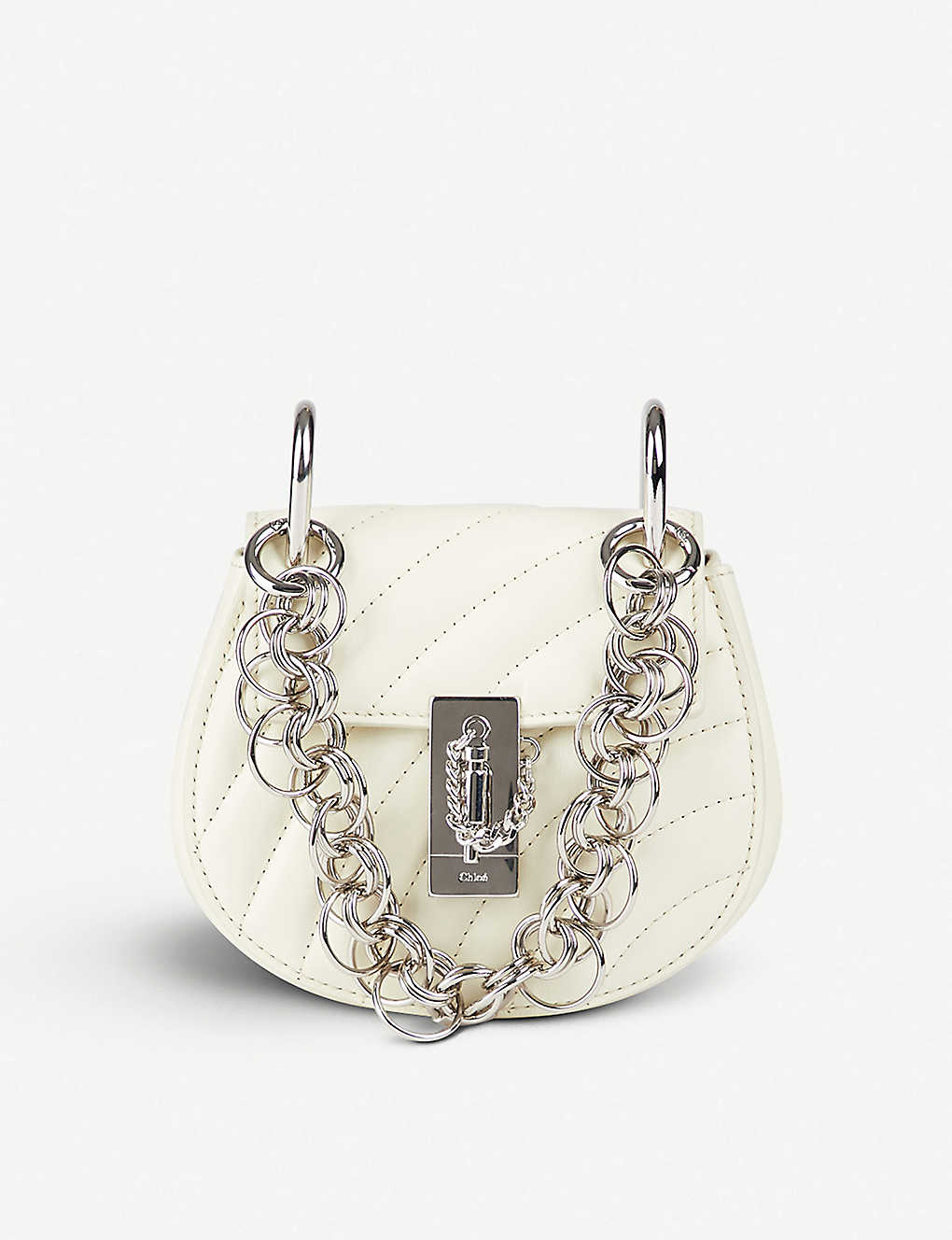 8b8ed783092 CHLOE - Drew Bijou nano quilted-leather cross-body bag | Selfridges.com