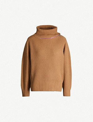 SACAI Turtleneck wool jumper