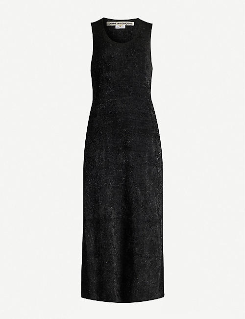 COMME DES GARCONS Sleeveless knitted midi dress