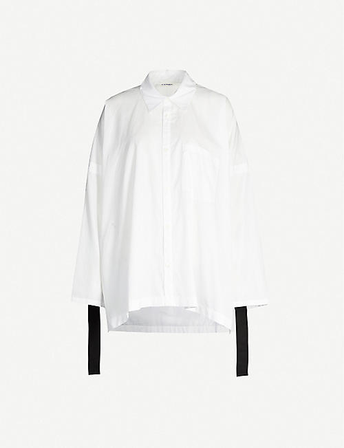 LIMI FEU Oversized cotton shirt