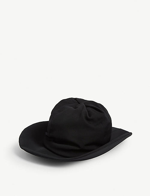 YS Ruched wool hat