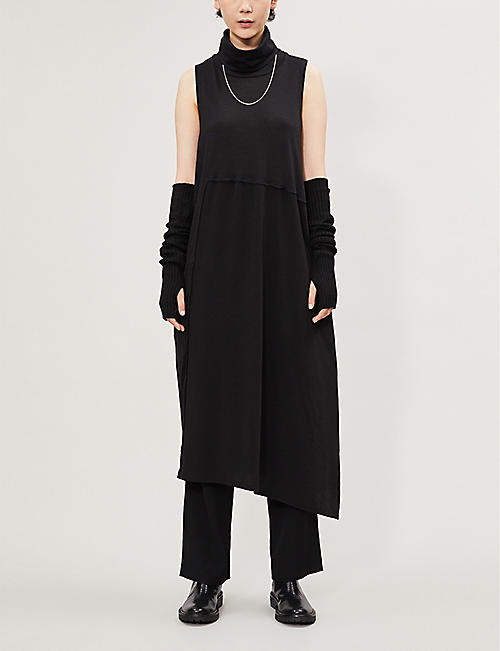 YS Turtleneck woven dress
