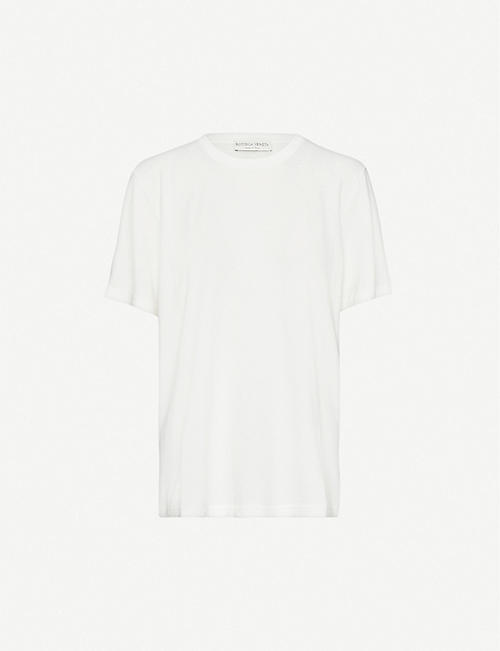BOTTEGA VENETA Crewneck cotton-jersey T-shirt