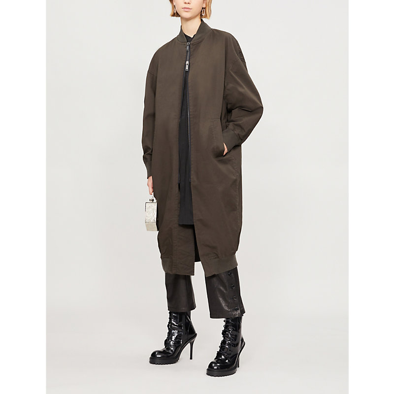 A.f.vandevorst MONDAY LONGLINE STRETCH-COTTON COAT