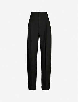 HAIDER ACKERMANN Straight-leg wool trousers