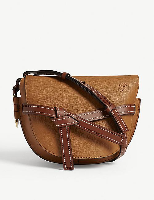 71b5845f322b LOEWE Gate small leather shoulder bag