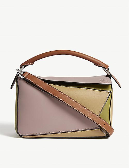 cefc840b75b LOEWE Puzzle leather shoulder bag