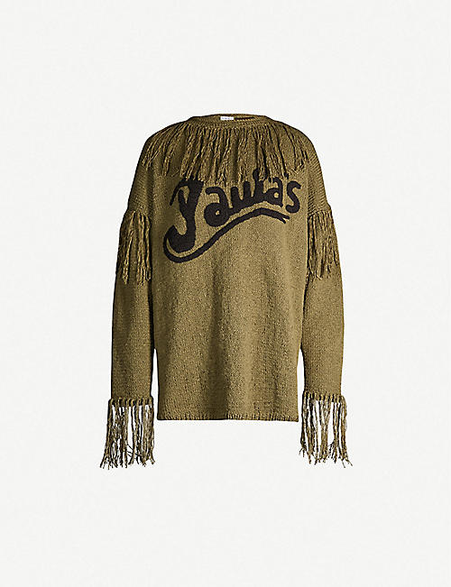 b7bf36e2bcd LOEWE Loewe x Paula s Ibiza tasselled cotton-knit jumper