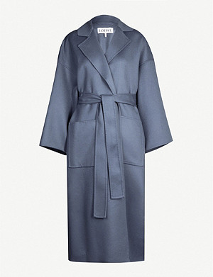 LOEWE Oversized wool and cashmere-blend coat