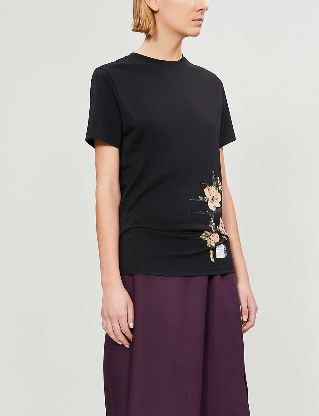 size 40 262b0 a98f1 LOEWE - Mackintosh cotton-jersey T-shirt | Selfridges.com
