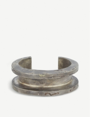 PARTS OF FOUR Acid-wash gold-plated bangle