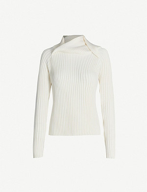 Y/PROJECT Turtleneck slim-fit wool-blend jumper