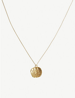 ALIGHIERI: The Stranger gold-plated necklace