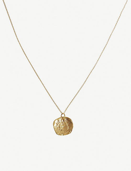 ALIGHIERI The Stranger gold-plated necklace