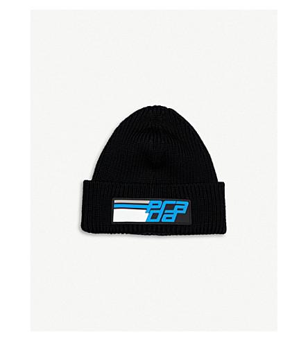 36510c007d7 PRADA - Ribbed wool beanie hat