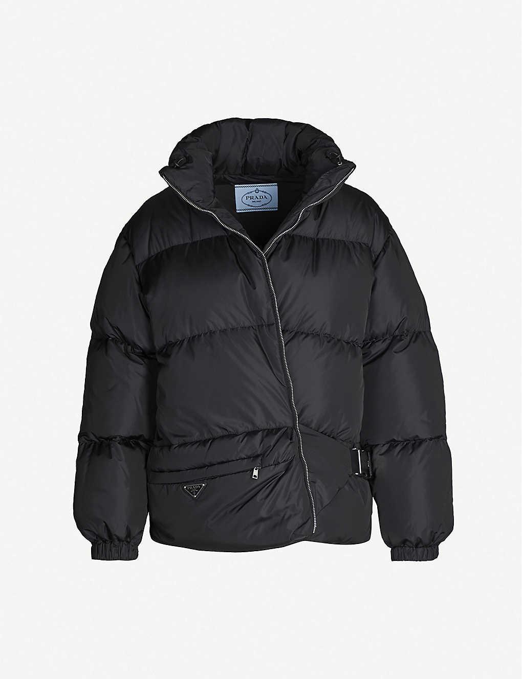 87a288ae5 Bum bag shell-down puffer coat