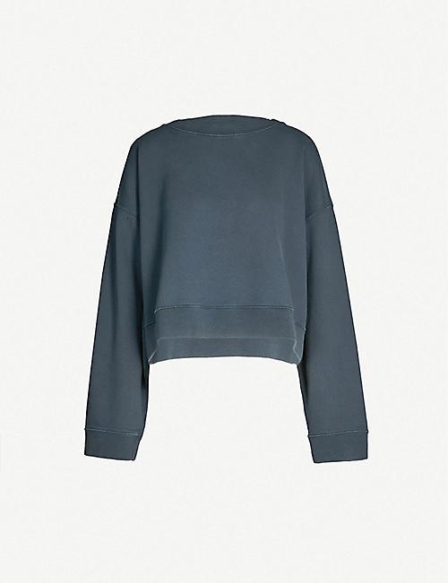19351534ab2bc MAISON MARGIELA Oversized cotton-jersey sweatshirt