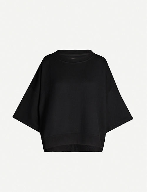 MAISON MARGIELA Branded stretch-cotton jersey T-shirt