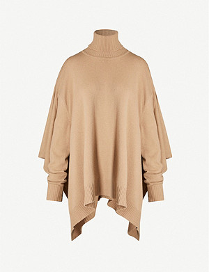 MAISON MARGIELA Roll-neck wool knit jumper