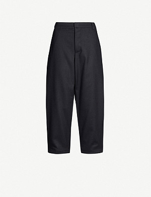 TOOGOOD The Artist cropped tapered wool-blend trousers