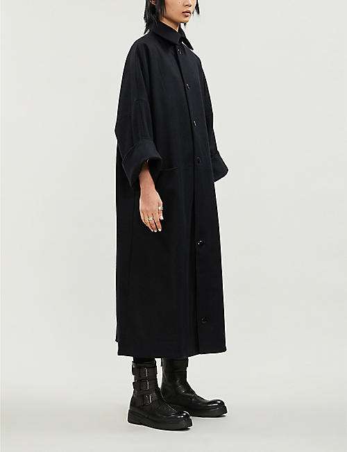 TOOGOOD The Doorman oversized wool coat