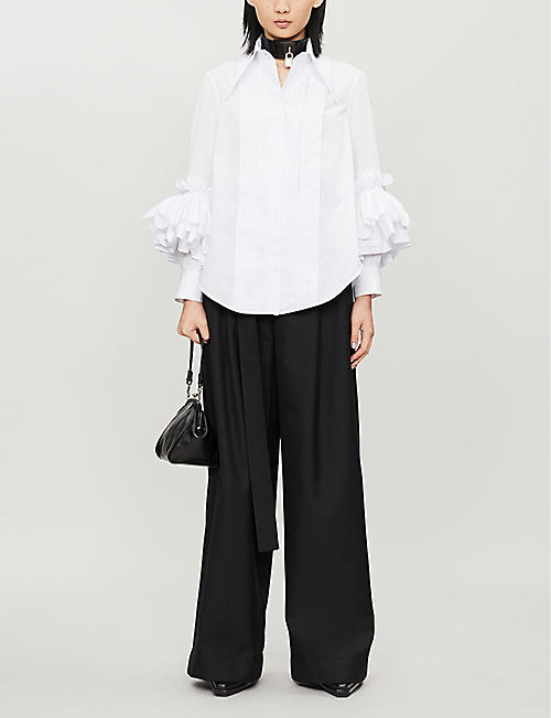 NABIL NAYAL Jules oversized cotton shirt