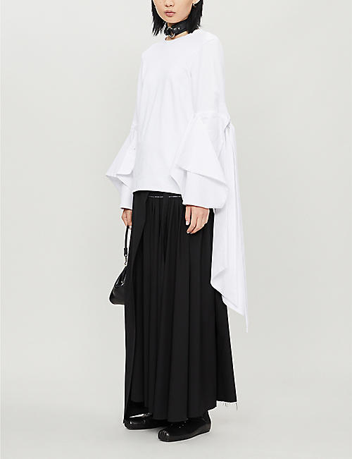 NABIL NAYAL Frederick oversized cotton top