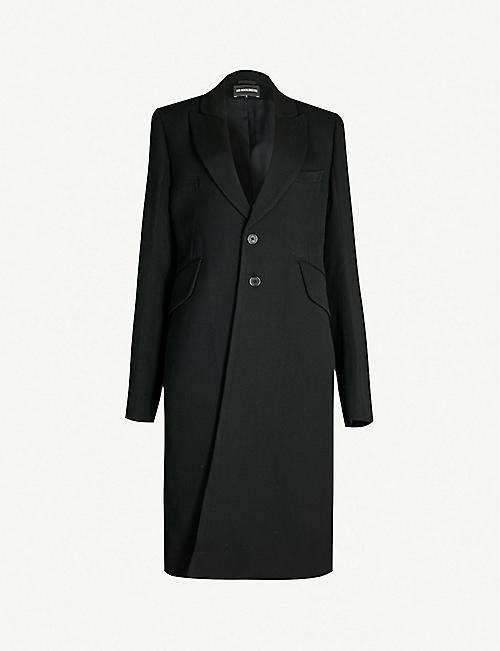 8a6892708c9 ANN DEMEULEMEESTER Wool and cotton blend coat