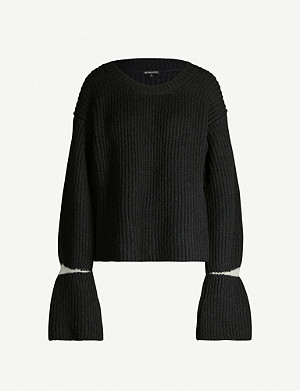 ANN DEMEULEMEESTER Claud wool-blend jumper