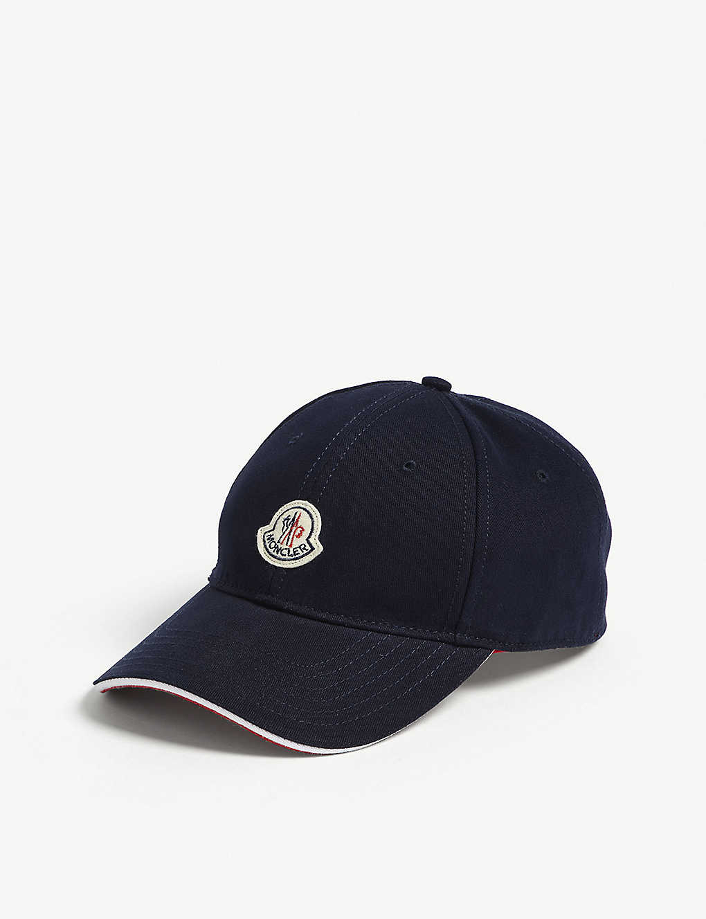 4ba0b5db516 MONCLER - Logo cotton strapback cap