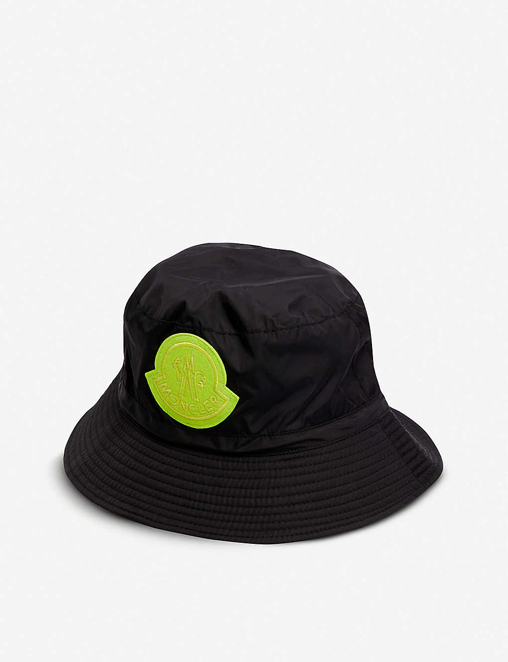 5027280f8cf3e MONCLER GENIUS - Logo-embroidered shell bucket hat