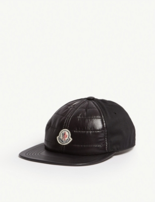 MONCLER Quilted nylon baseball cap