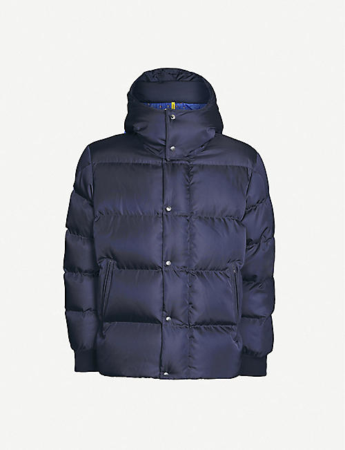 MONCLER GENIUS Falcon hooded shell-down puffer coat