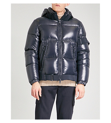 MONCLER X Craig Green Brook Quilted Down Filled Jacket, Black