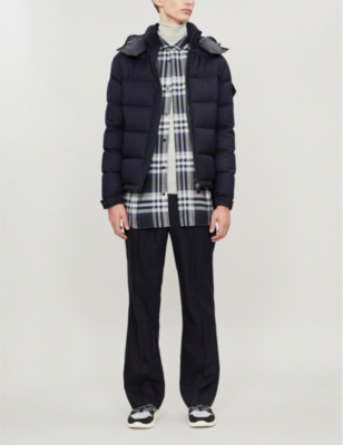 Montegenevre Wool And Down Blend Jacket by Moncler