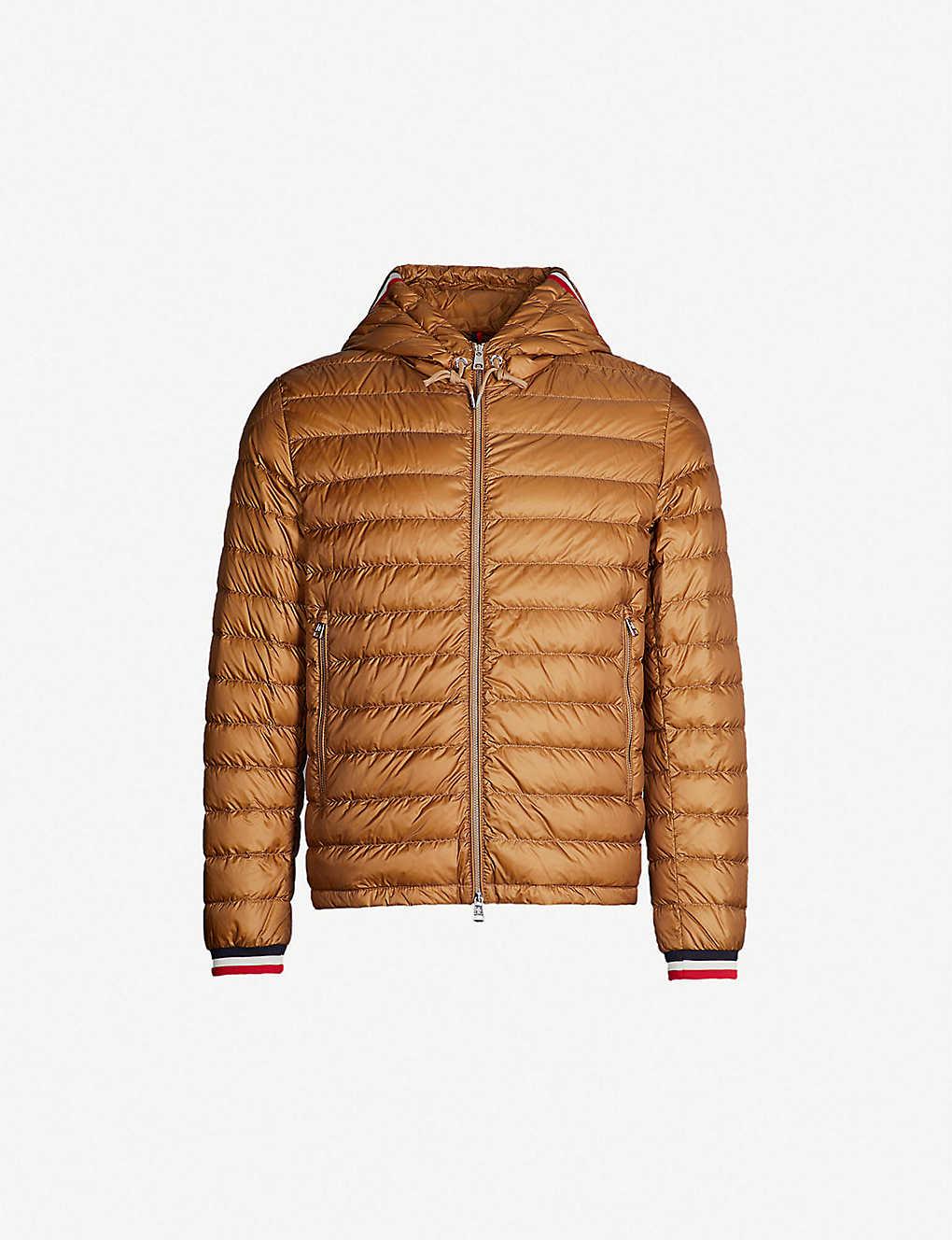 e8eab0ee8 Contrast-striped shell jacket