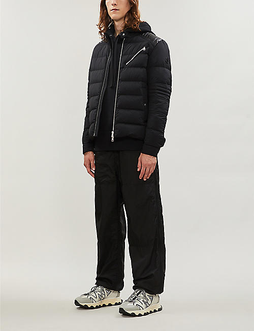 MONCLER Samalens quilted shell and down-blend jacket
