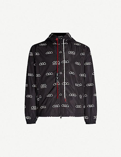 2bd4ecddf35e MONCLER Mikael logo-print shell jacket