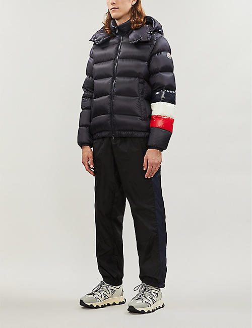 1b3ab043a9a40 MONCLER Padded shell and down-blend hooded jacket