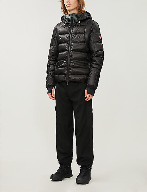 MONCLER GRENOBLE Mouthe shell-down jacket