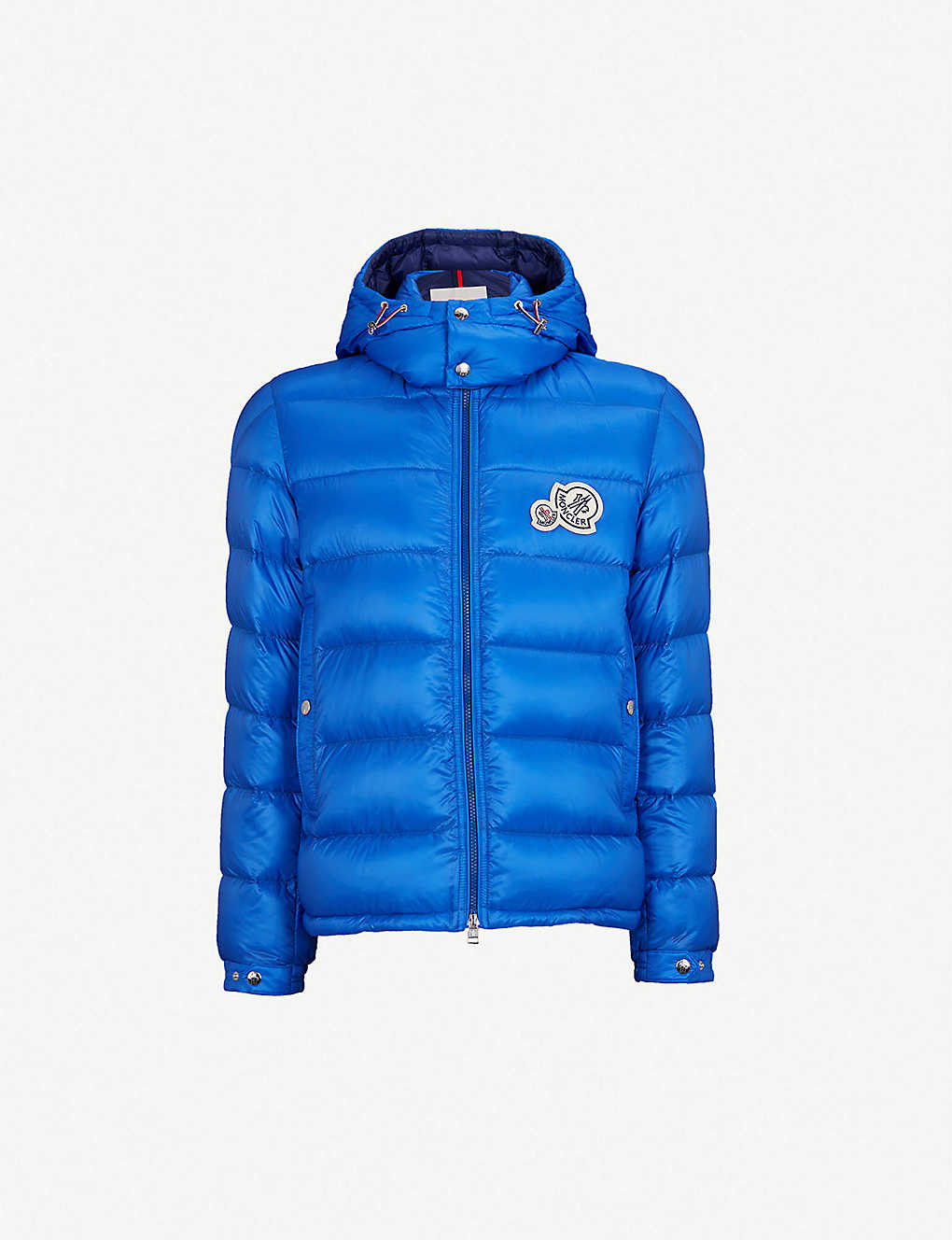 MONCLER: Down-filled hooded shell jacket