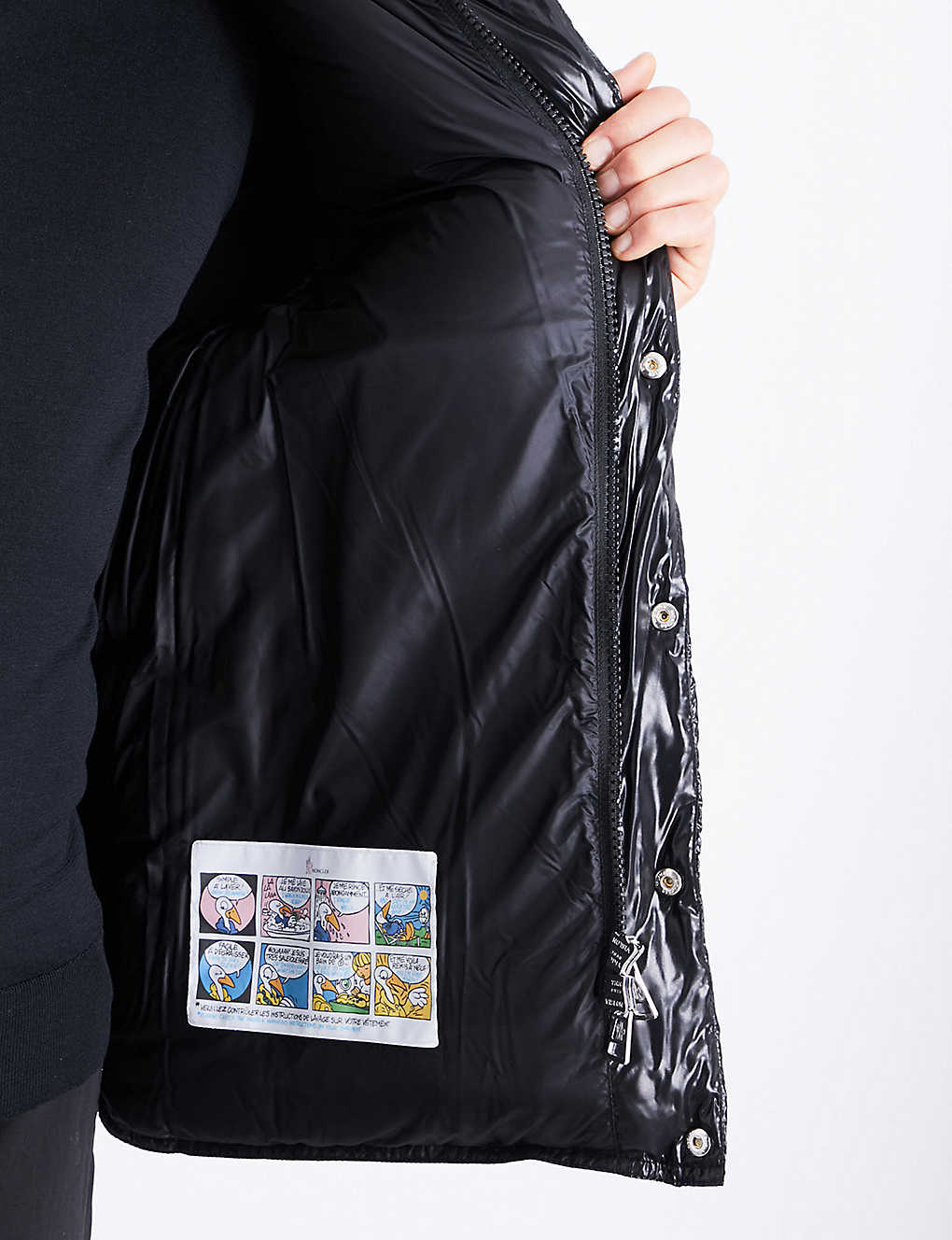 f6194e844e5 MONCLER - Aynard shell down jacket | Selfridges.com