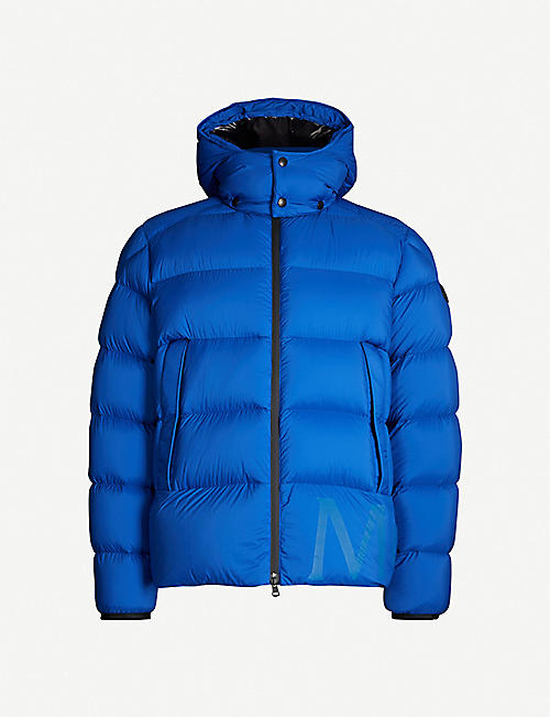 MONCLER Padded shell-down hooded jacket