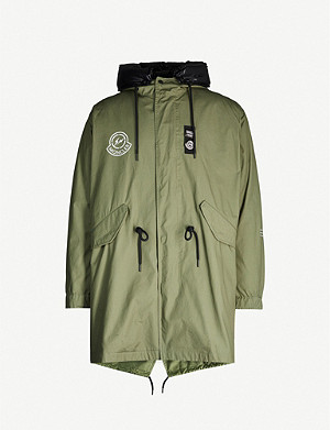 MONCLER GENIUS The Fulcrum shell-down parka