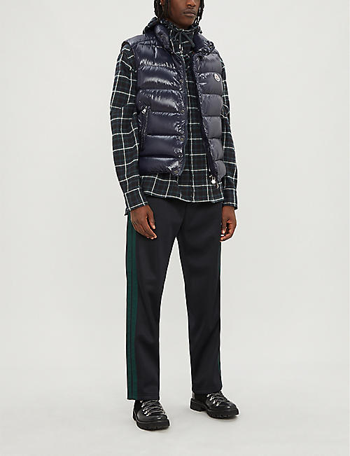 MONCLER Quilted padded shell-down gilet