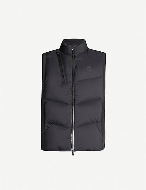 MONCLER Padded shell-down gilet