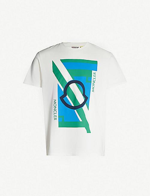 04e1d3dba5ad12 MONCLER Moncler 5 cotton-jersey T-shirt