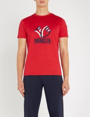 12124d25d5b MONCLER - 2 Moncler 1952 Logo-print cotton-jersey T-shirt ...
