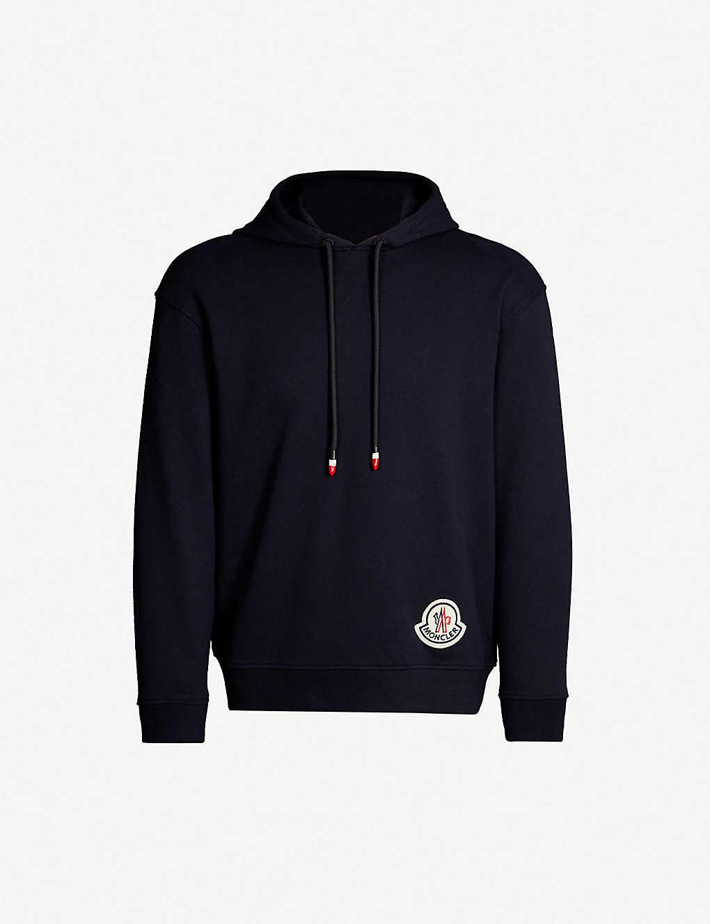 2f5c169d9 MONCLER GENIUS - Moncler 2 1952 logo-appliquéd cotton-jersey hoody ...