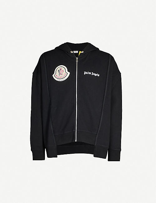 MONCLER GENIUS Moncler 8 Palm Angels cotton-jersey hoody